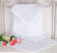 Одеяло-конверт для выписки с утеплителем Велюр 80х80 см ТРИЯ 800886