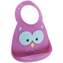 Нагрудник Baby Bib Owl Make my day 160580