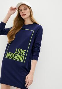 Платье Love Moschino LO416EWJQJY2I400