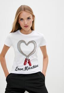 Футболка Love Moschino LO416EWJQKB7I400