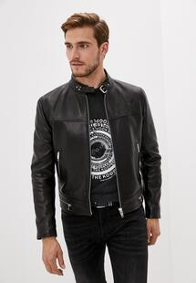 Куртка кожаная THE KOOPLES TH021EMJVYY9INL