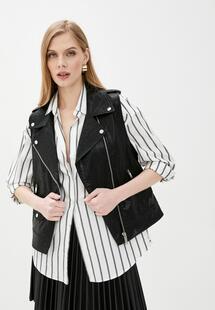 Жилет кожаный DKNY Jeans DK001EWHWPG5INS