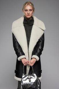 sheepskin coat VESPUCCI BY VSP 6130960
