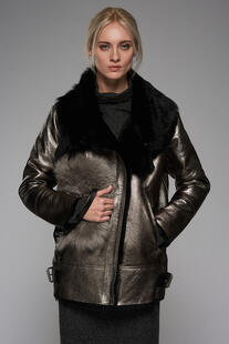 sheepskin coat VESPUCCI BY VSP 6130916
