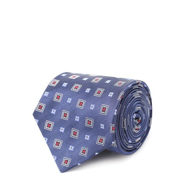 Шелковый галстук с узором