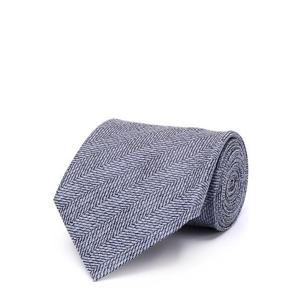 Галстук из смеси шерсти и шелка