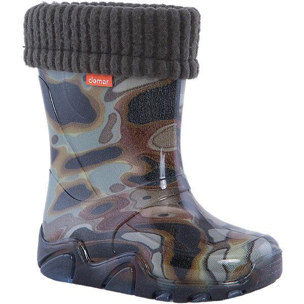 Резиновые сапоги со съемным носком  Stormer Lux Print