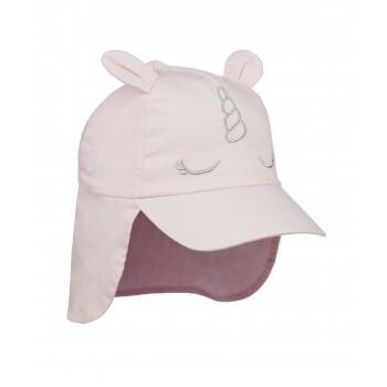 """Кепка с защитой шеи """"Единорог"""", розовый"""