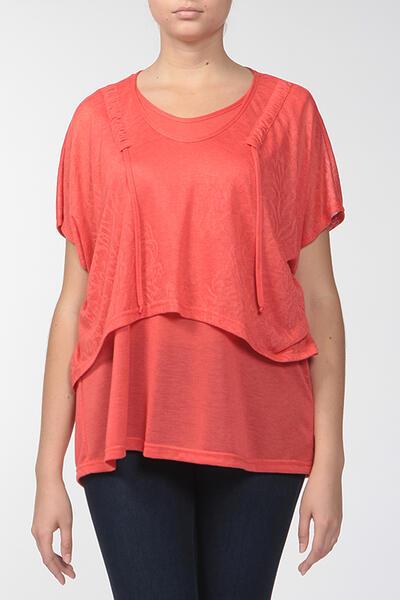 Комплект: блузка, топ