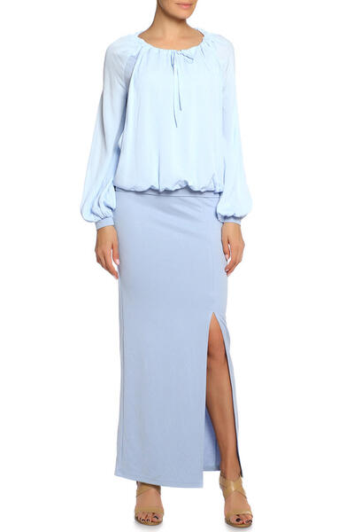 Костюм: блуза, юбка