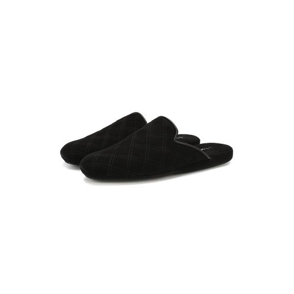 Домашние замшевые туфли