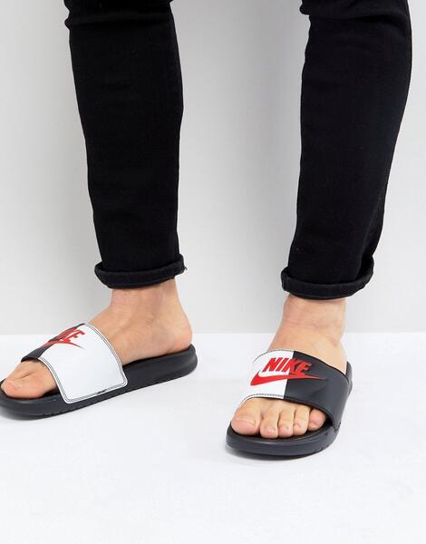 Черные сандалии Nike Benassi JDI 343880-006 - Черный