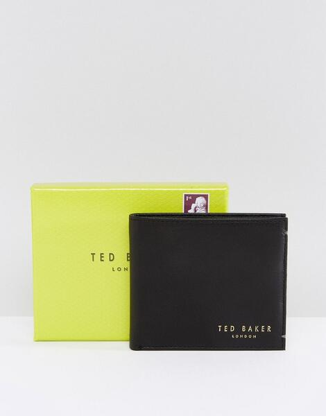 Кожаный бумажник Ted Baker Antony - Черный