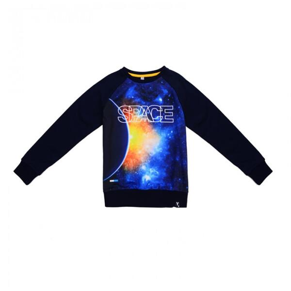 Толстовка для мальчиков Встреча с галактикой 381114