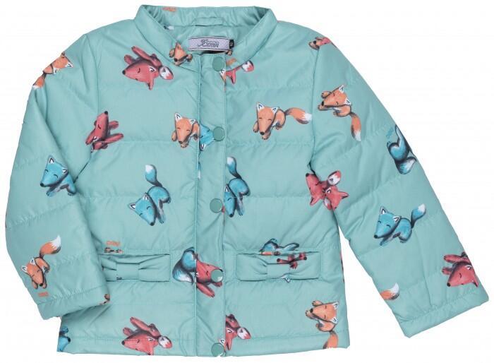 Куртка демисезонная для девочки 17-1007-W